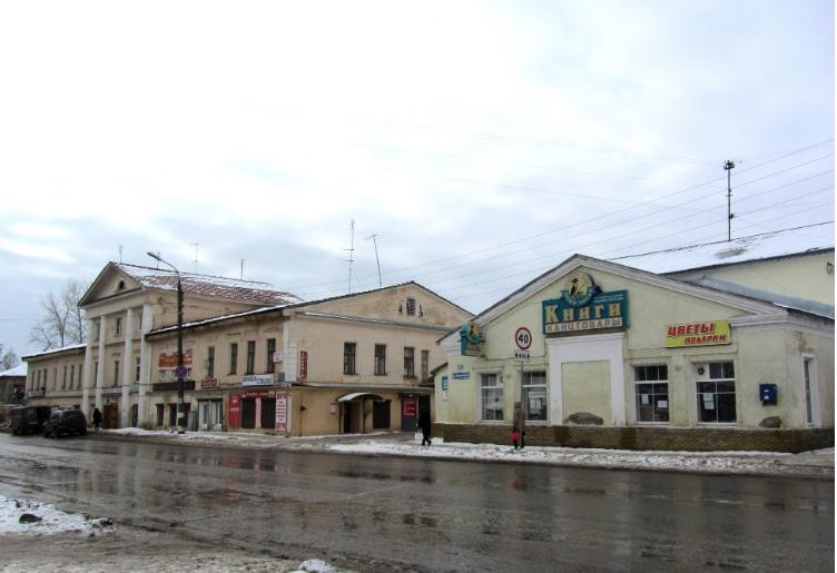 Городская усадьба в Балахне