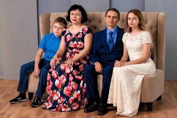 Супруги воспитывают двух замечательных детей