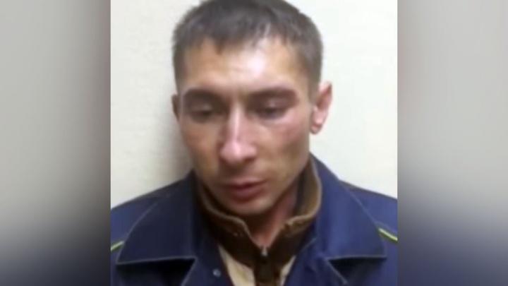 «Я ехал от мамки и заблудился»: мусорщик из Москвы рассказал, как зарезал студентку из Елани — видео