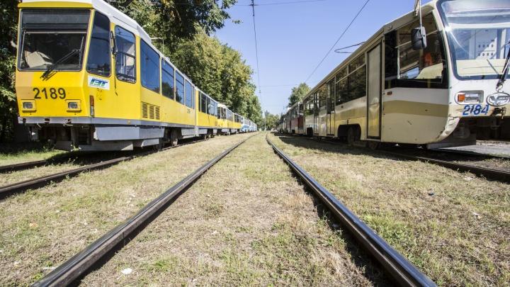 Власти выделили сто миллионов на ремонт новосибирских трамваев