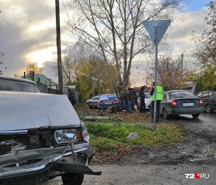 Авария случилась на пересечении улиц Шевченко и Совхозной