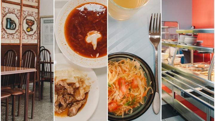 Обед за сотку: рассказываем, чем кормят в пяти дешёвых столовых Тюмени, и пробуем эту еду на вкус