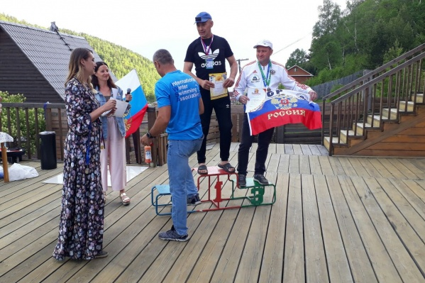 Виталий Панасюк занимается спортом всю жизнь