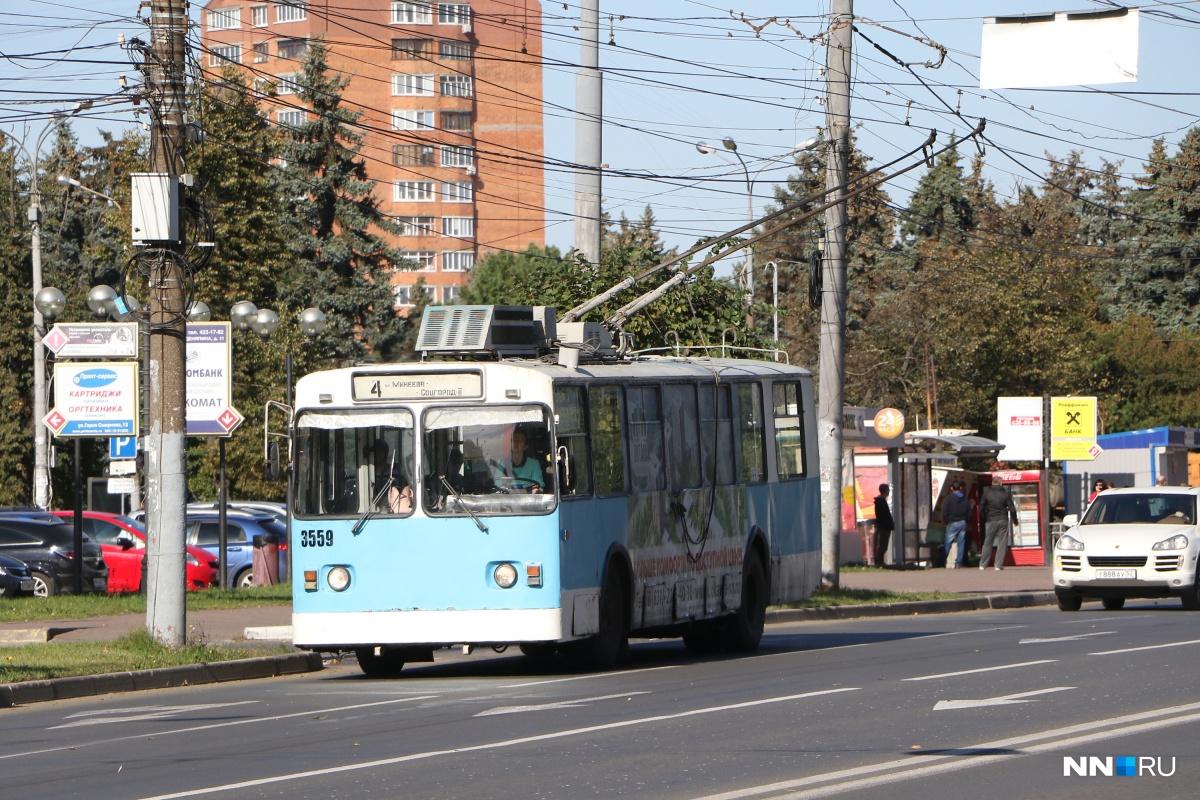 Три троллейбуса перестанут появляться на дорогах Автозаводского района на время работ