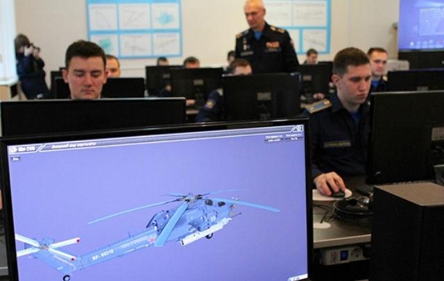 Челябинские курсанты освоят вертолёт Ми-28H с помощью нового программного комплекса