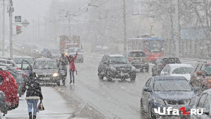 Новый год в апреле: в Башкирии в среду пройдет снег