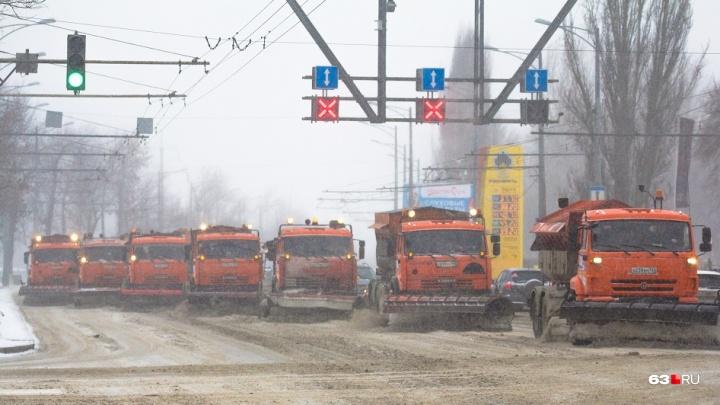 Стало известно, с кого можно будет спросить за уборку снега на Московском шоссе