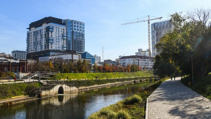 В Екатеринбурге официально открыли новую набережную Исети. Смотрим фото