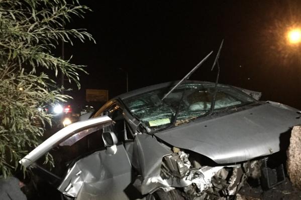 Травмы оказались для водителя смертельными