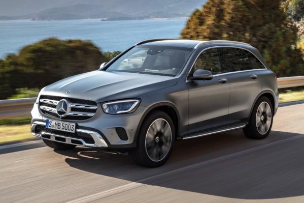 Mercedes-Benz GLC оснащен постоянным полным приводом