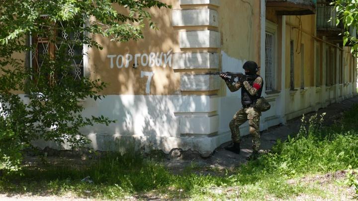 Освобождение заложников: в Самаре прошли крупные учения силовиков