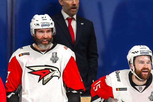 Максим Тальбо (слева) и Дэвид Деарне вместе перешли в омский клуб из ярославского «Локомотива»