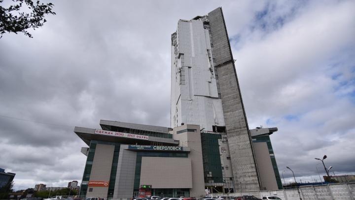 Требуют снести 28 этажей: мэрия начала судиться со строителями заброшенного небоскреба у вокзала