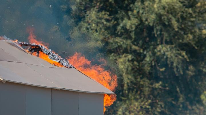 С начала года при пожарах в Ростовской области погибло пять детей