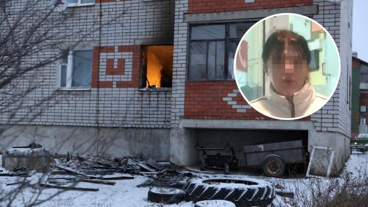 Маме, у которой в пожаре сгорели трое детей, дадут денег на похороны и ремонт квартиры