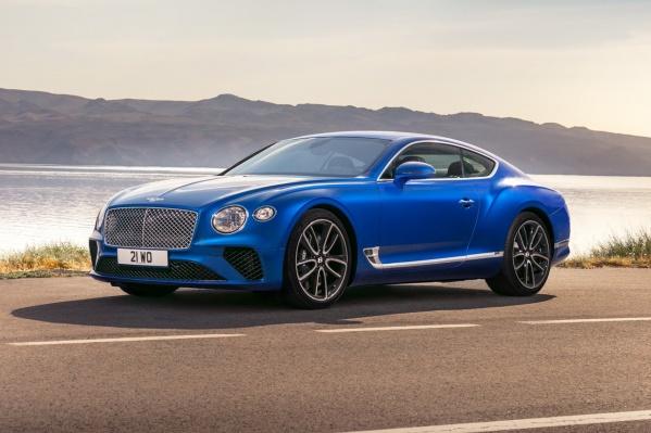 Bentley Continental GT стоит от 13 миллионов