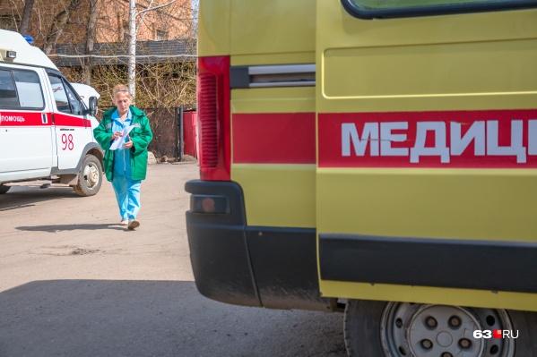 В городскую станцию скорой помощи перевели 250 сотрудников