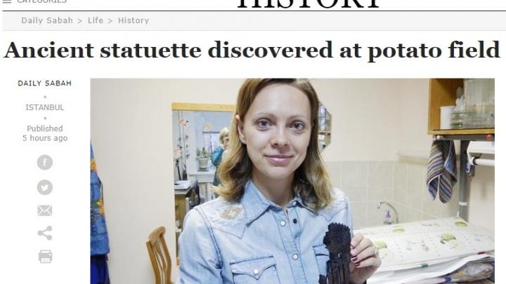 Турецкая пресса заинтересовалась откопанными в Новосибирске человечками с перьями