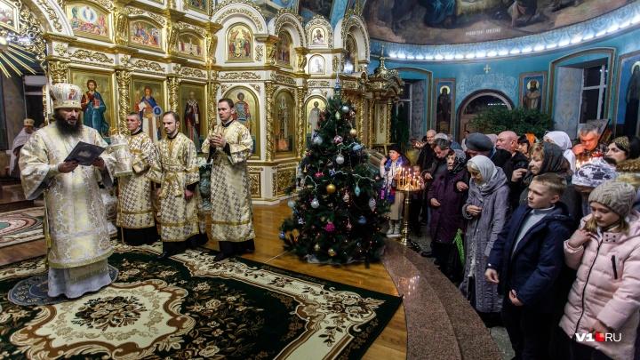 В храмах Волгограда пройдут рождественские богослужения: расписание