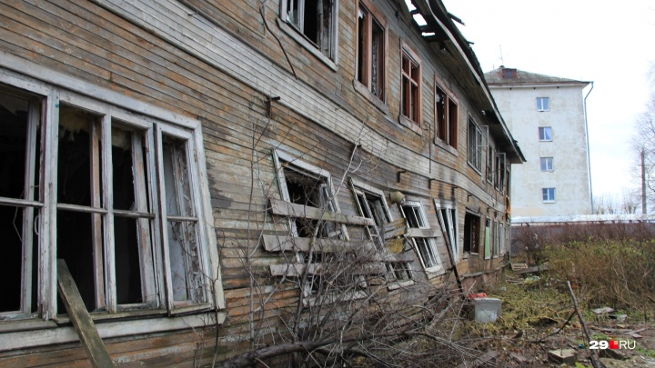 В Архангельске снесут 22 дома. Денег в бюджете нет: это делают организации, которым нужны обломки
