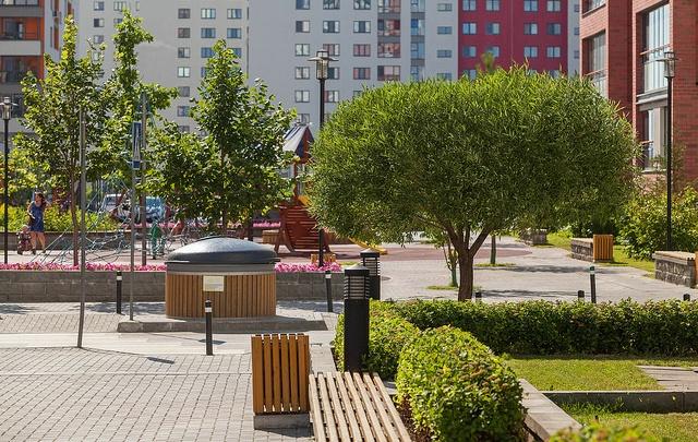 Переняли опыт Европы: тюменские парковки стали превращаться в зеленые дворы