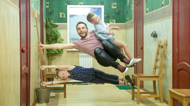 Папа может: как провести весь день с двумя детьми, пока мама отдыхает