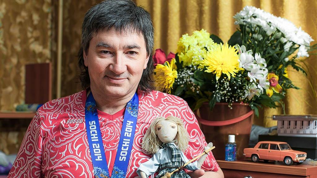 Марат Романов — серебряный призёр Паралимпийских игр в Сочи