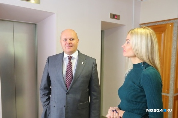 Владислав Логинов занял место вице-мэра в октябре 2017 года