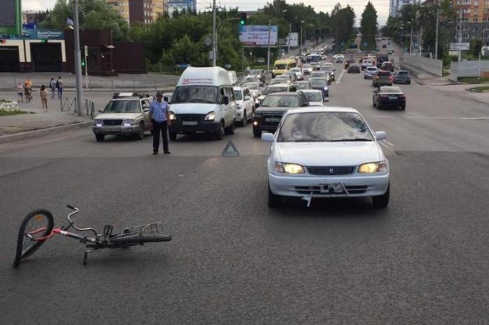 Авария на Красном проспекте