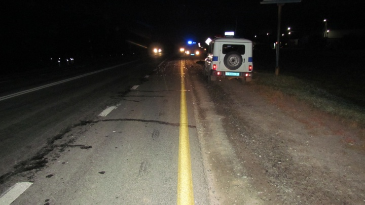Инспекторы ГИБДД ищут свидетелей аварии под Талицей, где грузовик насмерть сбил парня