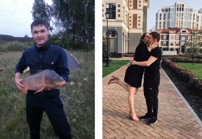 Слева — Вадим Мустафин, справа — Вячеслав Тропин
