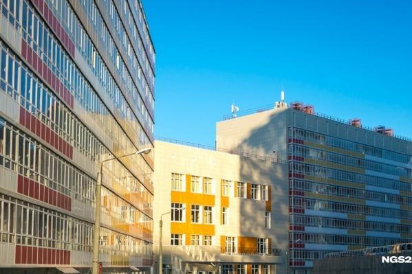 Новые корпуса общежитий построили в Красноярске 5 лет назад