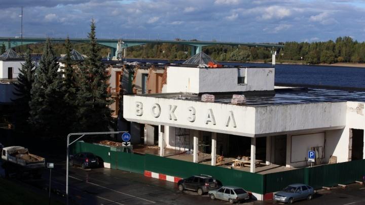 «Травля идёт на полную катушку»: в Ярославле подрядчики прекратили ремонтировать речной вокзал