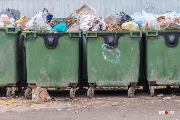 Самарцы считают, что тарифы на вывоз отходов посчитали неправильно