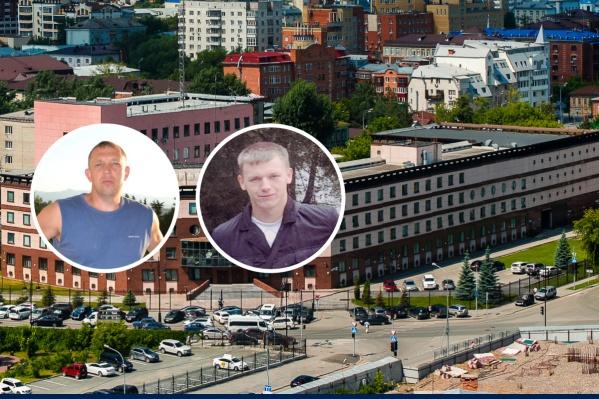 Тренер по самбо Александр Кобылин и бывший сотрудник тюменской ФСБ Евгений Гладких готовятся услышать приговор