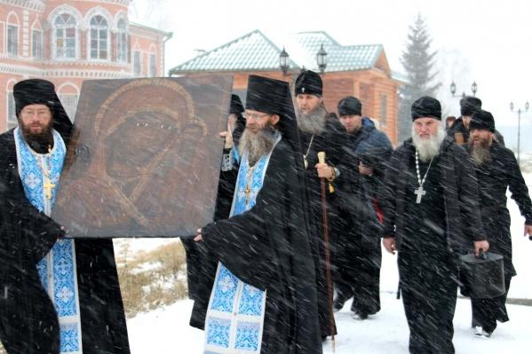 Список иконы передали в Свято-Казанский Чимеевский мужской монастырь