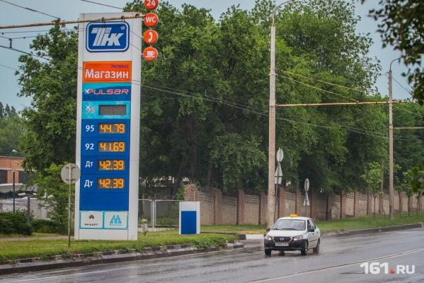 Цены на бензин продолжат расти