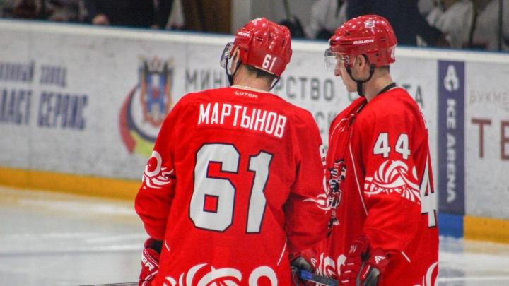 Ростовские хоккеисты разгромили соперников с Южного Урала