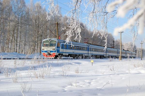 Добраться на специальной электричке до Верхотурья можно будет 30 декабря, вернуться в Екатеринбург — 31 декабря