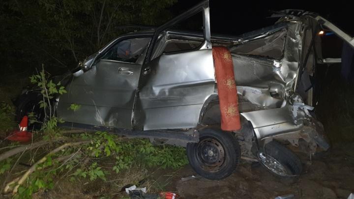 Восемь человек пострадали в слетевшей с трассы «Хонде»