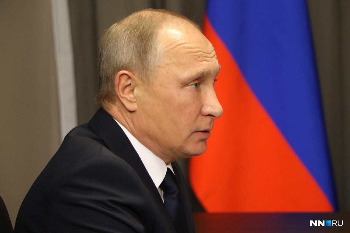 Владимир Путин был в нашей области три месяца назад