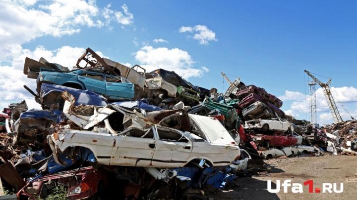 Они так и не нашли приюта: башкирское кладбище автомобилей