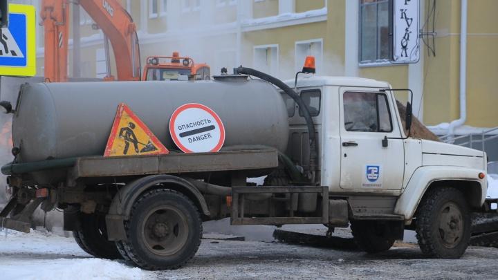 Десятки домов Архангельска сегодня остались без света, воды и отопления из-за ремонтов на сетях