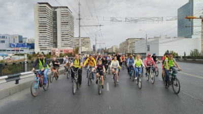 «Весной поедем с трёх направлений»: более 700 волгоградцев приняли участие в велопараде