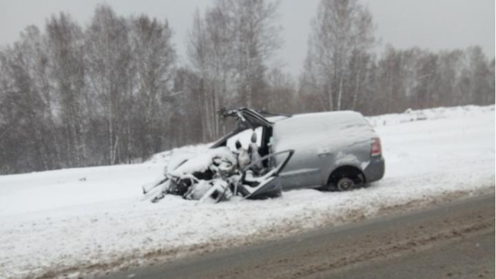 Под Новосибирском ищут девушку: она пропала после аварии на трассе