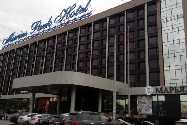 Инцидент произошел в отеле«Маринс Парк»