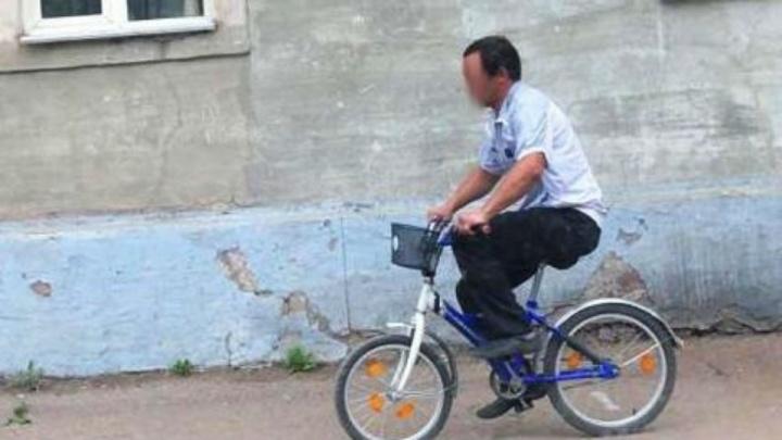 В Уфе поймали уголовника на синем велосипеде, который изнасиловал 10-летнюю девочку в лесу