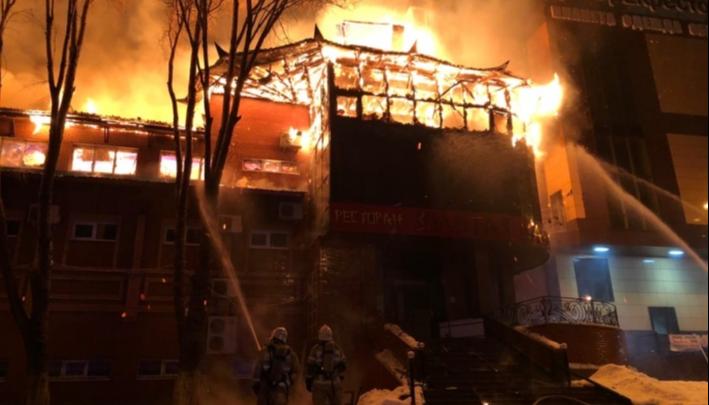 Стали известны предварительные причины пожара в ресторане «Золотая пагода» в Самаре
