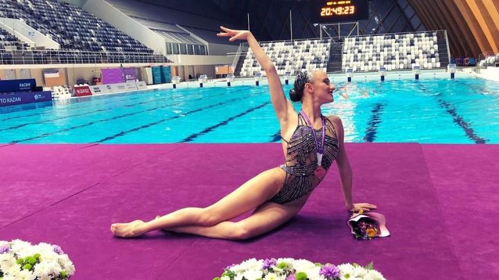 Синхронистка Влада Чигирева помогла сборной России завоевать золото в Барселоне