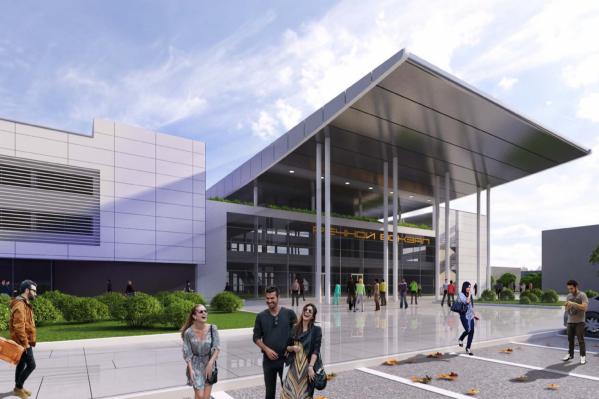Вот так будет выглядеть новый вокзал